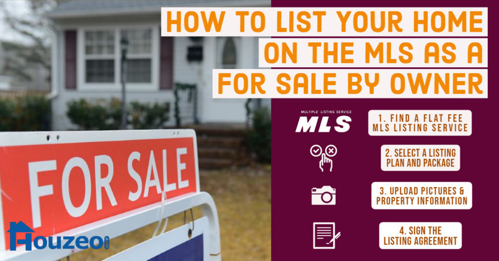 How to List on the MLS as For Sale By Owner?