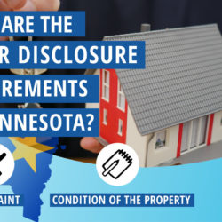seller disclosure requirements in Minnesota