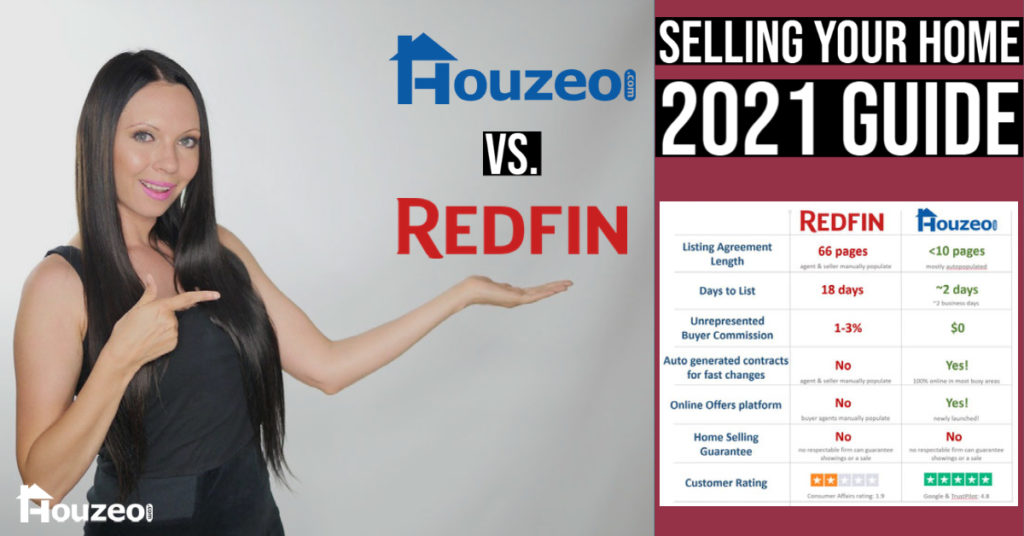 Redfin Reviews: Why you should sell your home with Houzeo instead