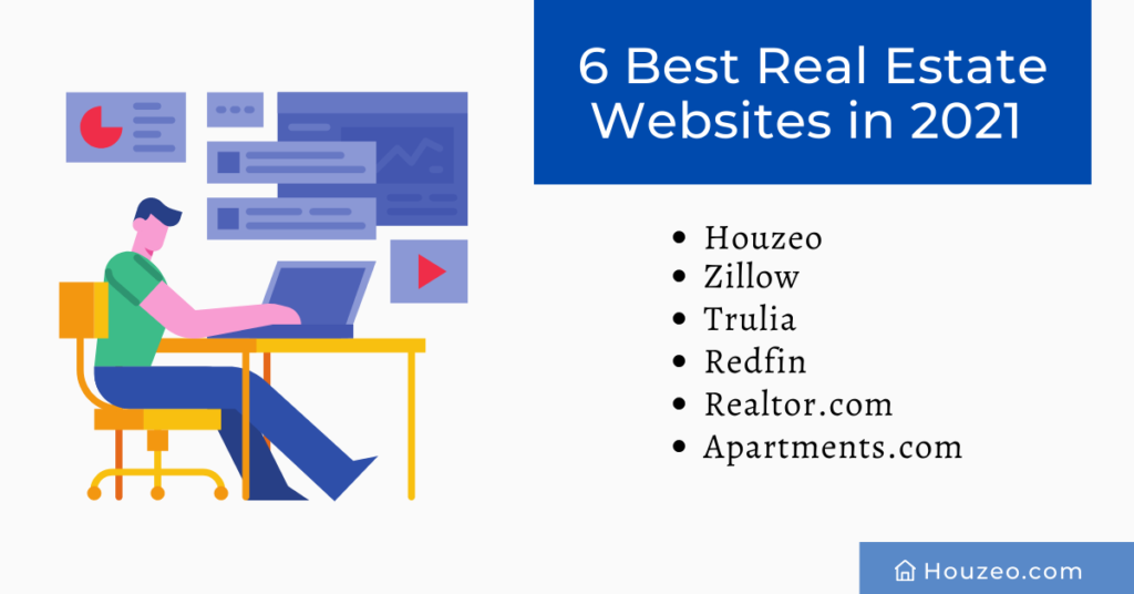 best real estate websites, real estate websites, houzeo, zillow, trulia, realtor.com, apartments.com, house for sale, buy a home, sell your home, real estate, realtors, real estate agents