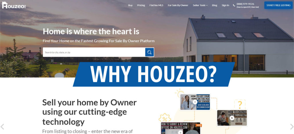 why you have to choose houzeo