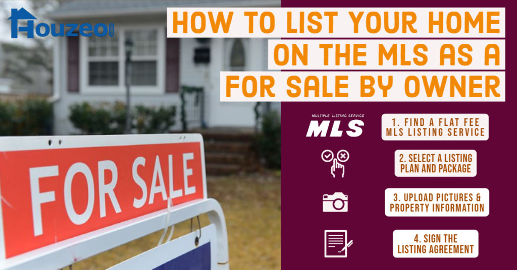 HOW TO LIST YOUR HOME ON THE MLS AS FOR SALE BY OWNER