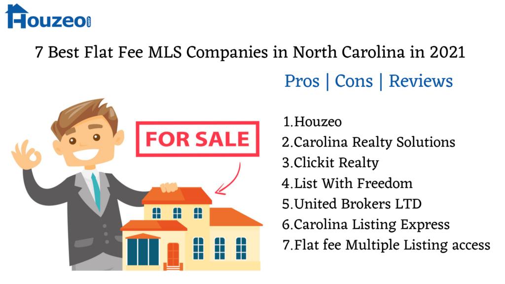 Best Flat Fee MLS Companies in North Carolina