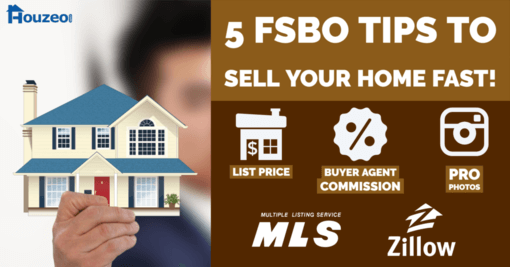5 Tips to Sell Your Home Fast as a For Sale By Owner (without an agent)