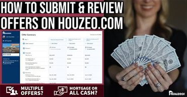 4min Video: How to Submit & Review Offers on Houzeo.com